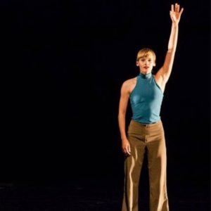 Awardwinning pieces Blinking by Fabio Liberti performed by dancers from Danish Dance Theatre