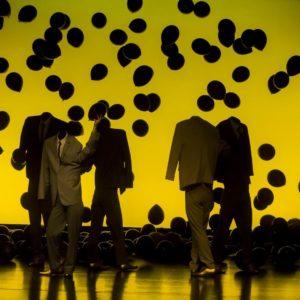 Running in the Hamster's wheel is a tragic-comic choreographic piece by Fabio Liberti